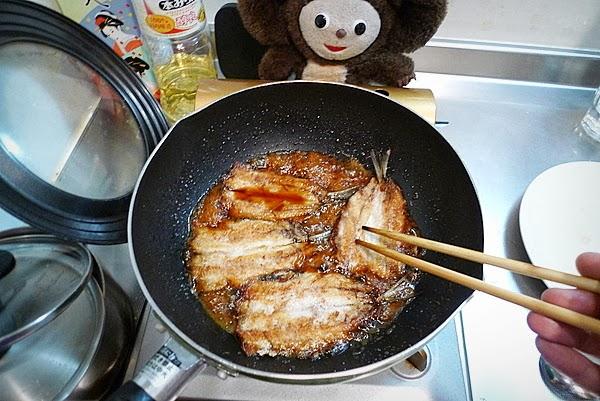 イワシ蒲焼の作り方(6)