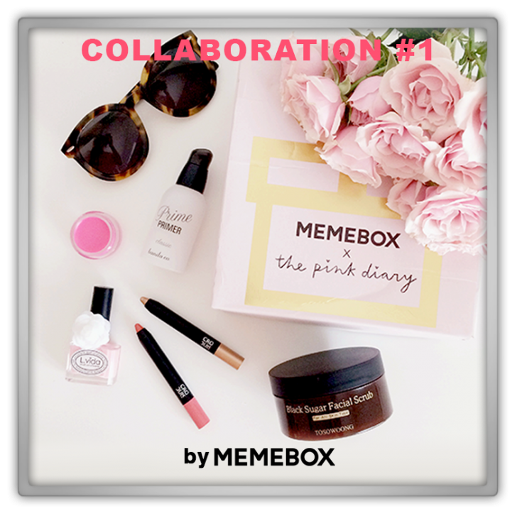 Memebox Collaboration #1 Memebox X Pink Diary 미미박스 Commercial