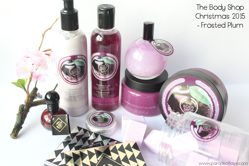The Body Shop®'s Christmas 2015 Frosted Plum