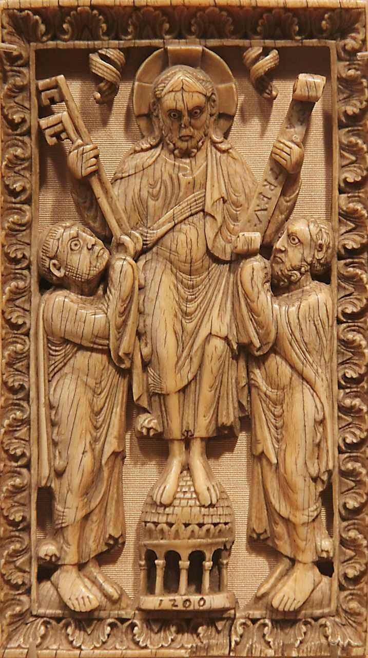 Davi, marfim alemão do século XII. Cloisters Museum, NYC