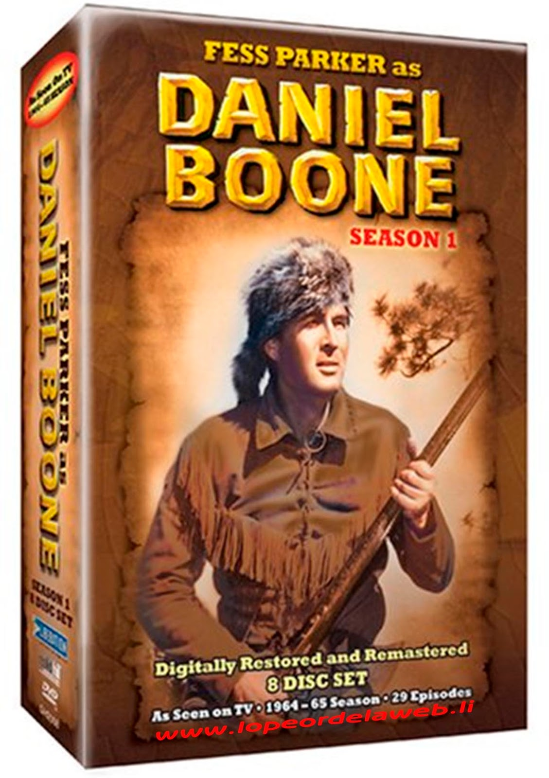Daniel Boone - S01 E 03-04 (Dual: Inglés/Latino)
