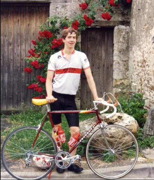 Athletic Club de Boulogne Billencourt ACBB Cyclisme 1986.