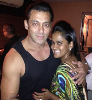 Salman Khan's Diwali 2013 Party images