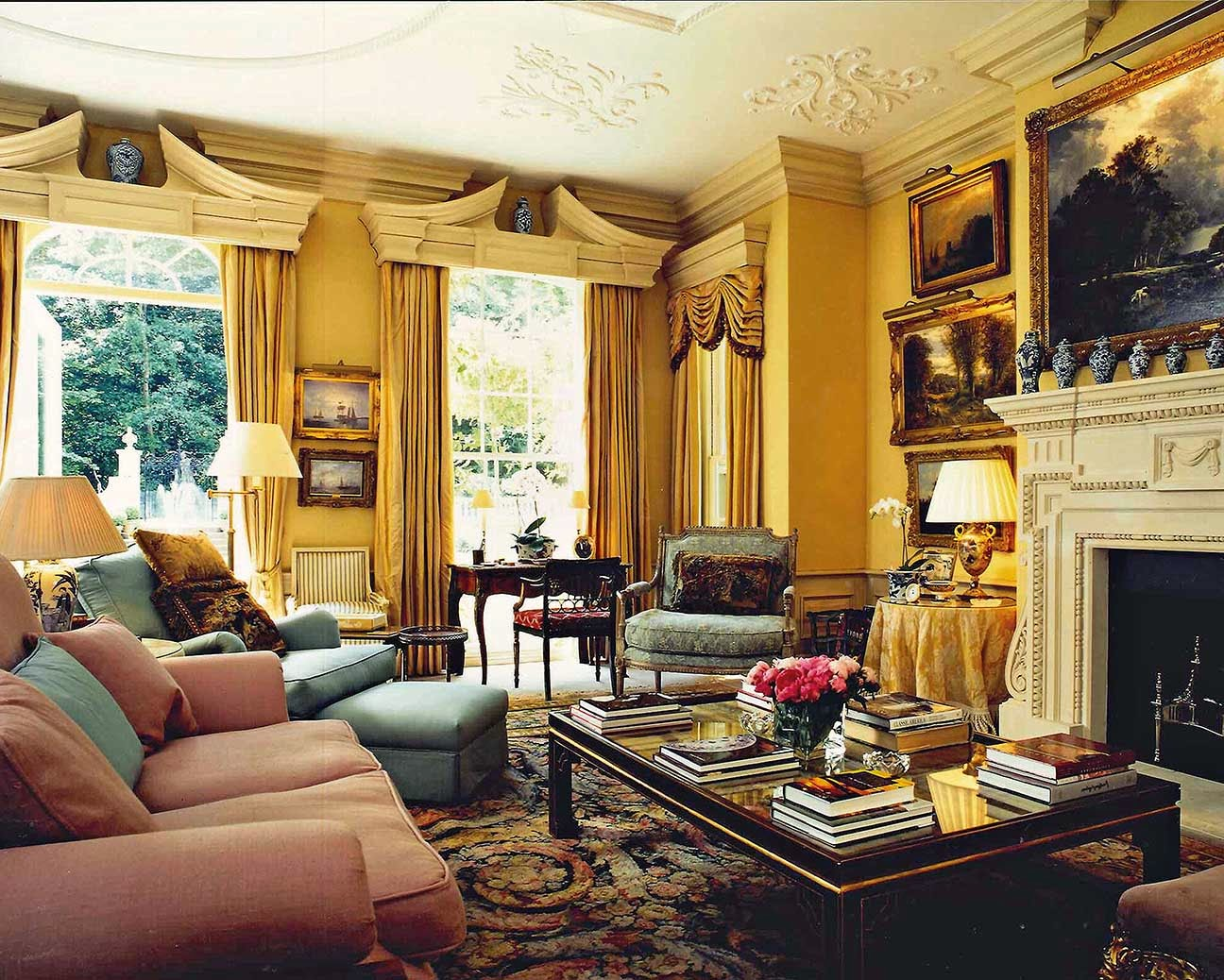 Nicky Haslam I Wrote About His Highly Entertaining Autobiography Redeeming Features Earlier Has Designed Interiors For An Ultra High Profile Clientele