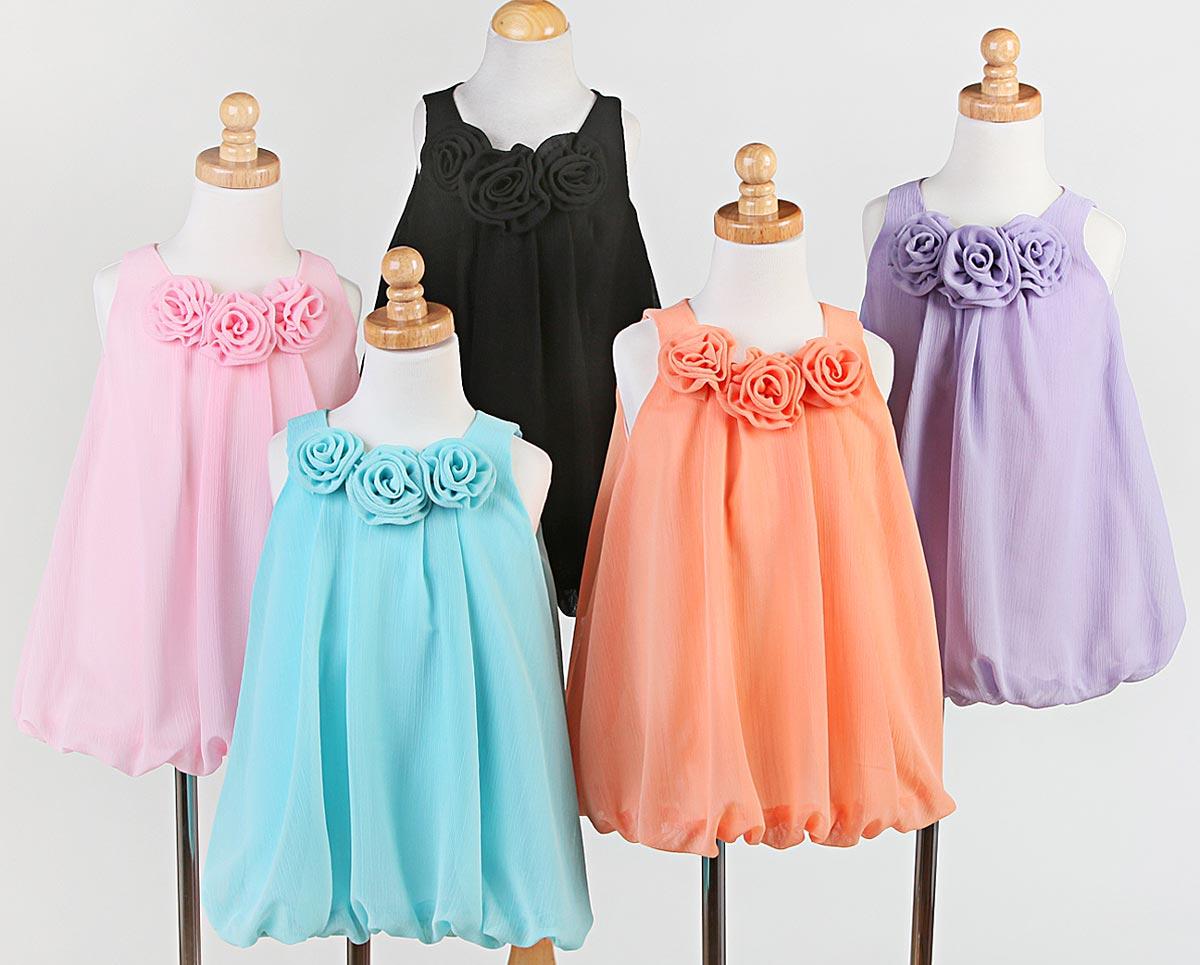 Идеи детских платьев своими руками 46