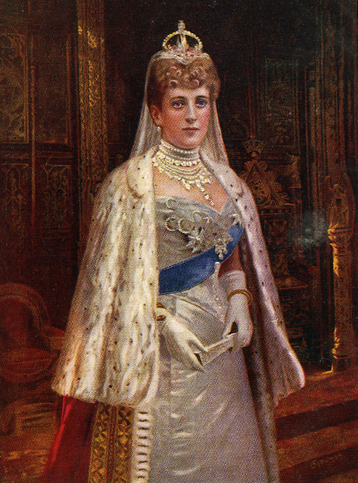 Art Wednesday: The Queens of England