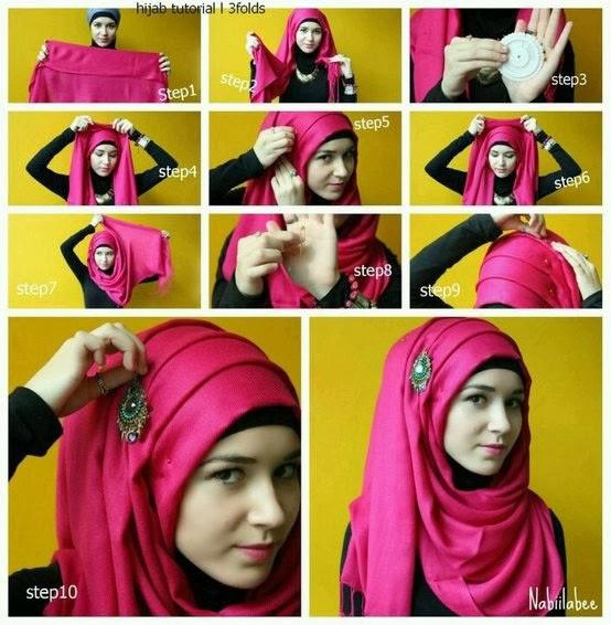 Hijab tutorial francais
