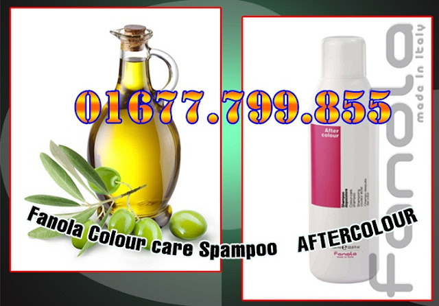 Dầu Gội Fanola Nuôi Dưỡng Màu Tóc Fanola Colour care Spampoo – AFTERCOLOUR