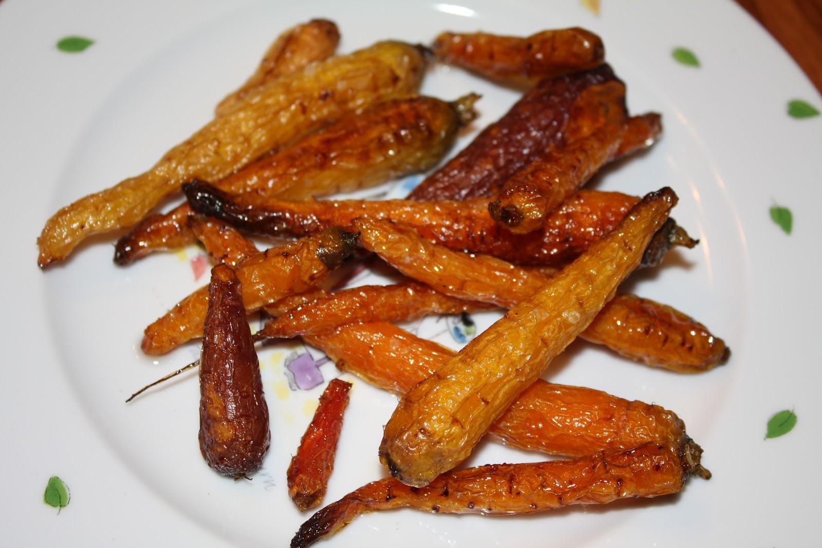 Roasted Baby Carrots Recipe — Dishmaps