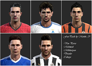 Facepack Vol.3 PES 2013 by Martin_09
