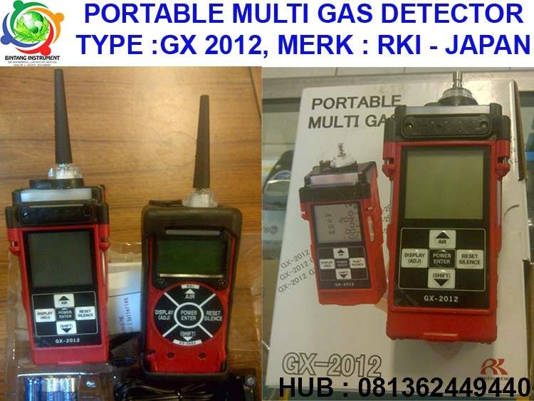 Harga Gas Detector Portable