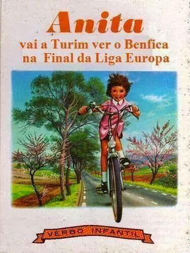 Anita vai a Turim ver o Benfica na Final da Liga Europa