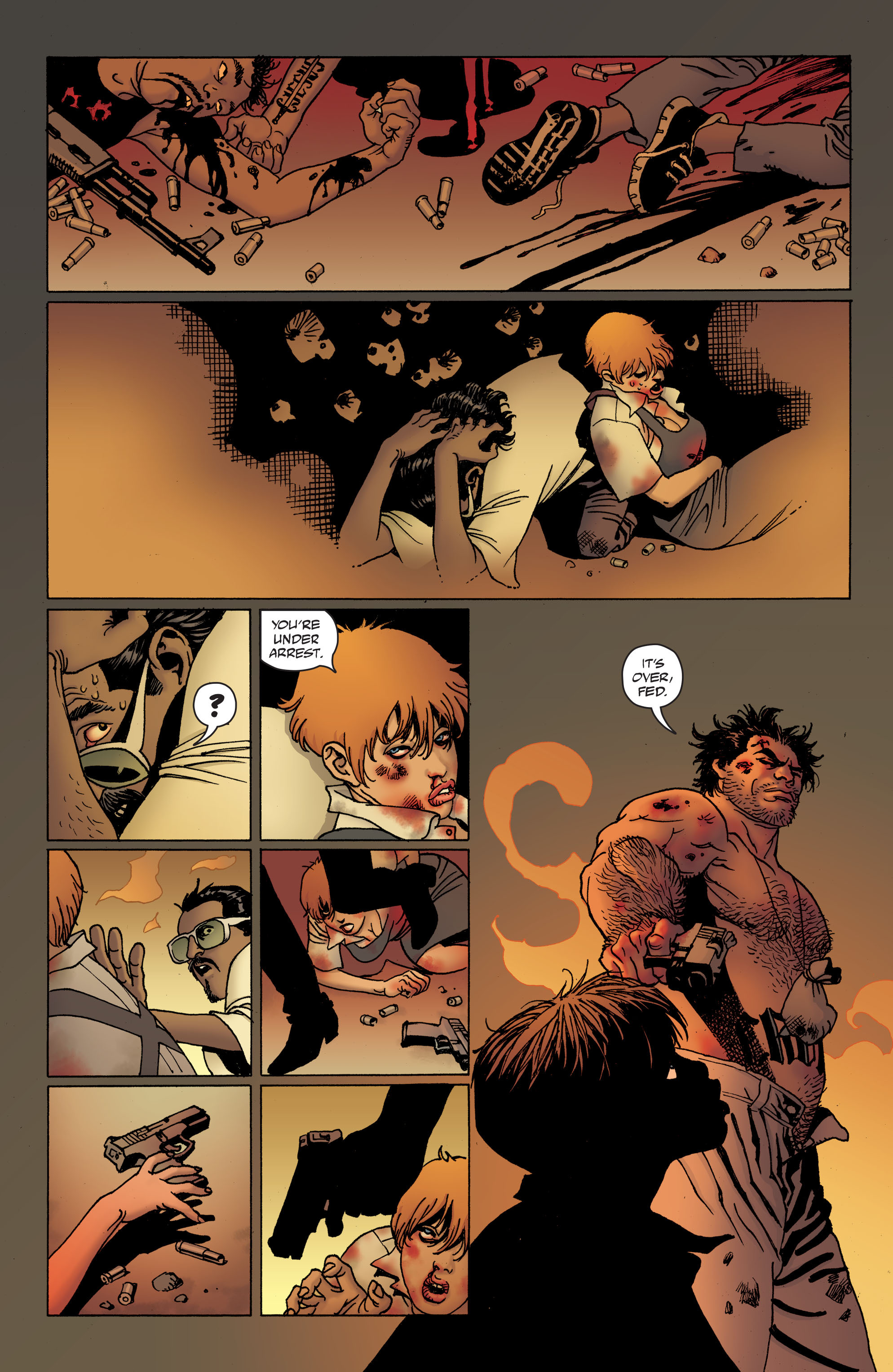100 Bullets: Brother Lono Full Page 182