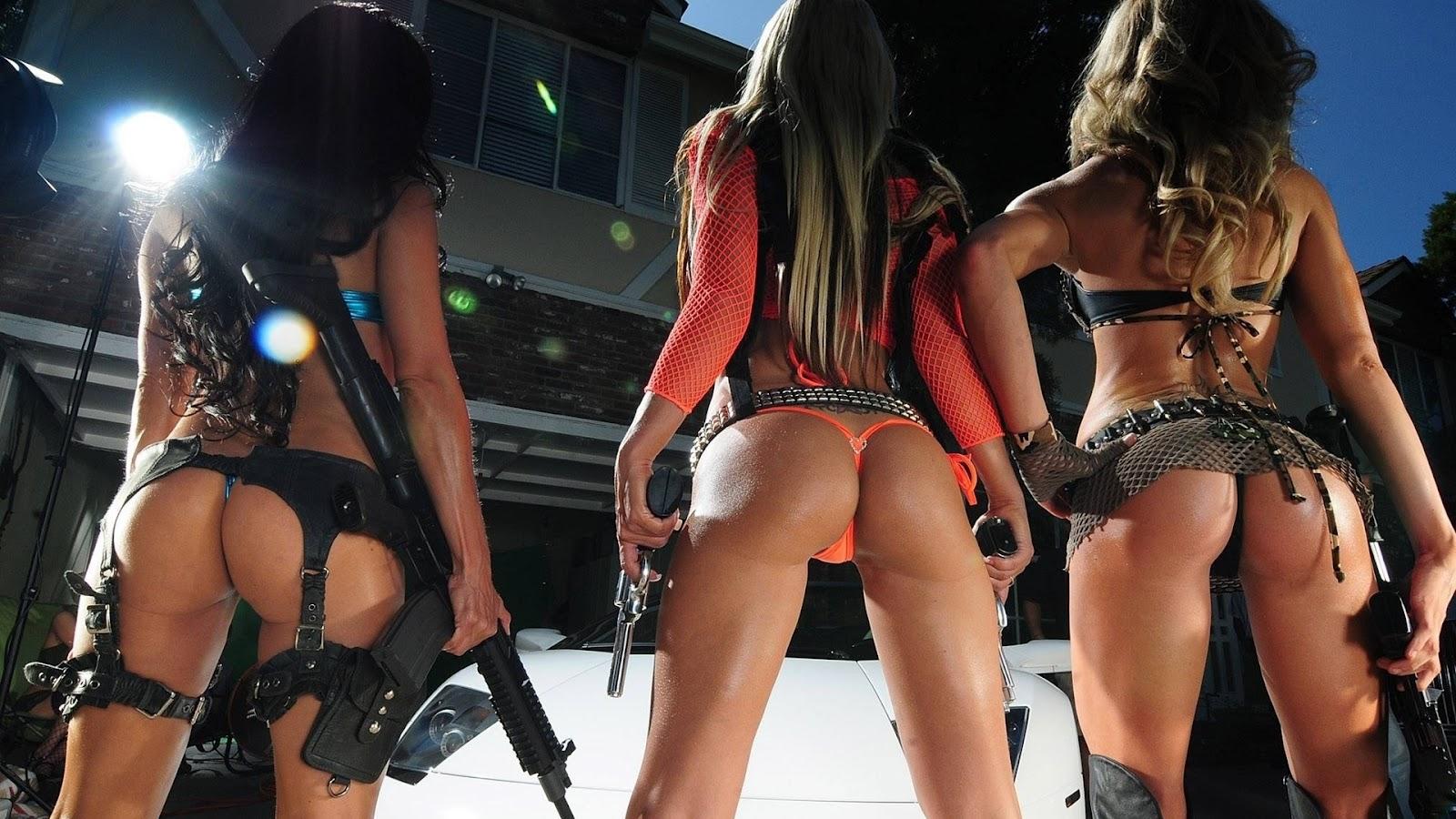 Bad ass military women.