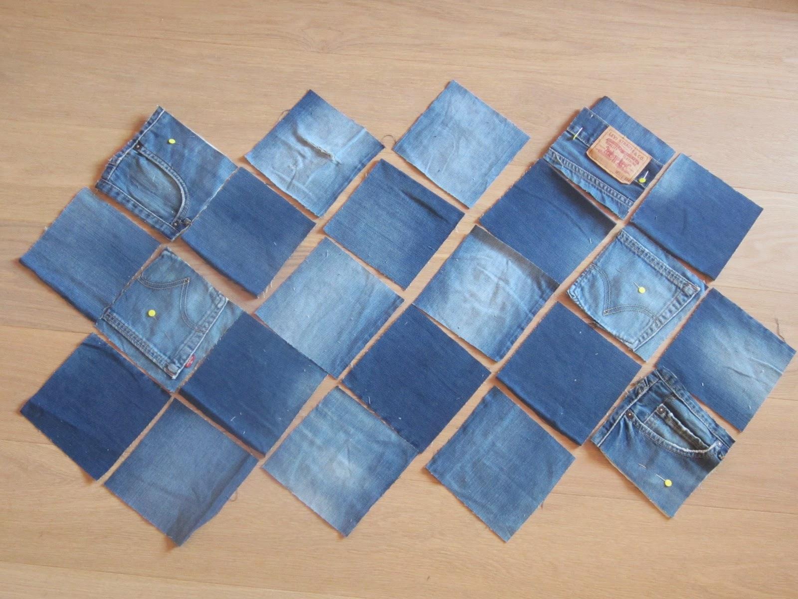 Borse jeans fatte a mano tutorial