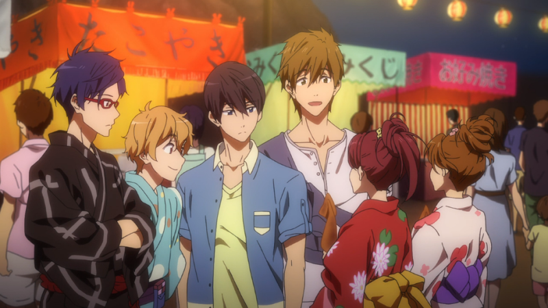 Free Anime Featuring A Summer Festival Scene