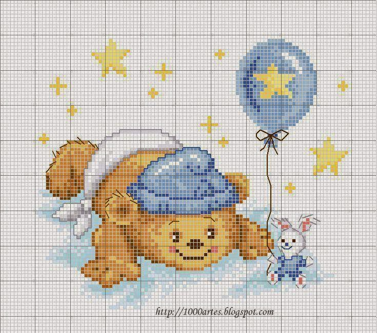 Schemi punto croce nascita wg72 pineglen for Punto croce bambini nascita
