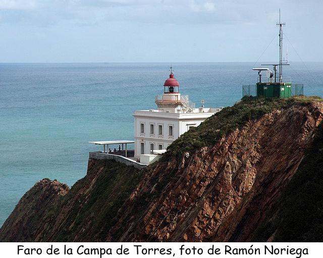 Faro de la Campa de Torres de Gijón