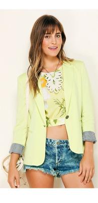 blazer femenino básico Farm