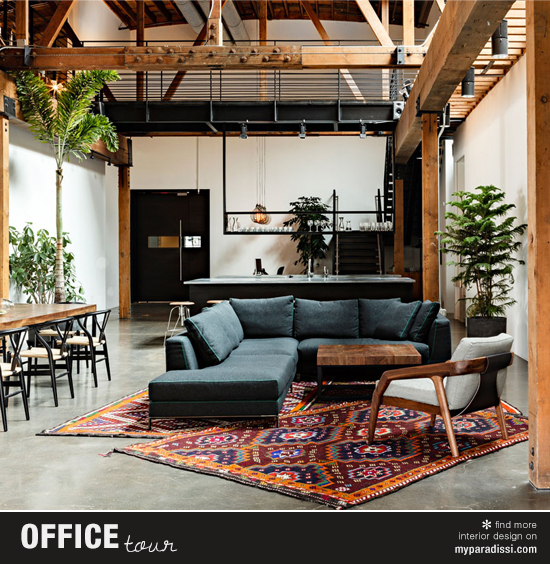 The offices of Joint Editorial by Jessica Helgerson Interior Design. Photo by Lincoln Barbour.