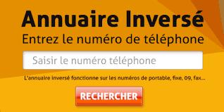 Annuaire inversé mobiles gratuit : Trouver un numéro de téléphone sur notre annuaire inversé gratuit. ANNUAIRE INVERSÉ MOBILE GRATUIT (fonctionne sur numéro fixe, mobile, fax et box internet).