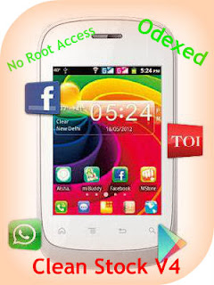 Clean Stock v4 for Micromax A52