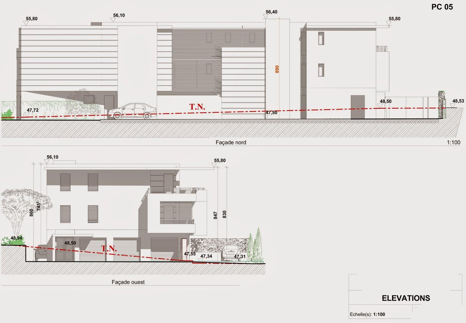 Les terrasses de l 39 escourche plans permis de construire - Permis de construire terrasse ...