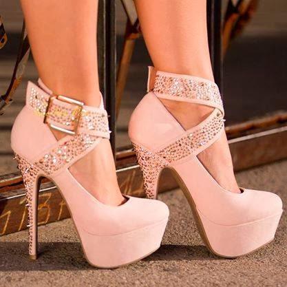 shoes platform glittery