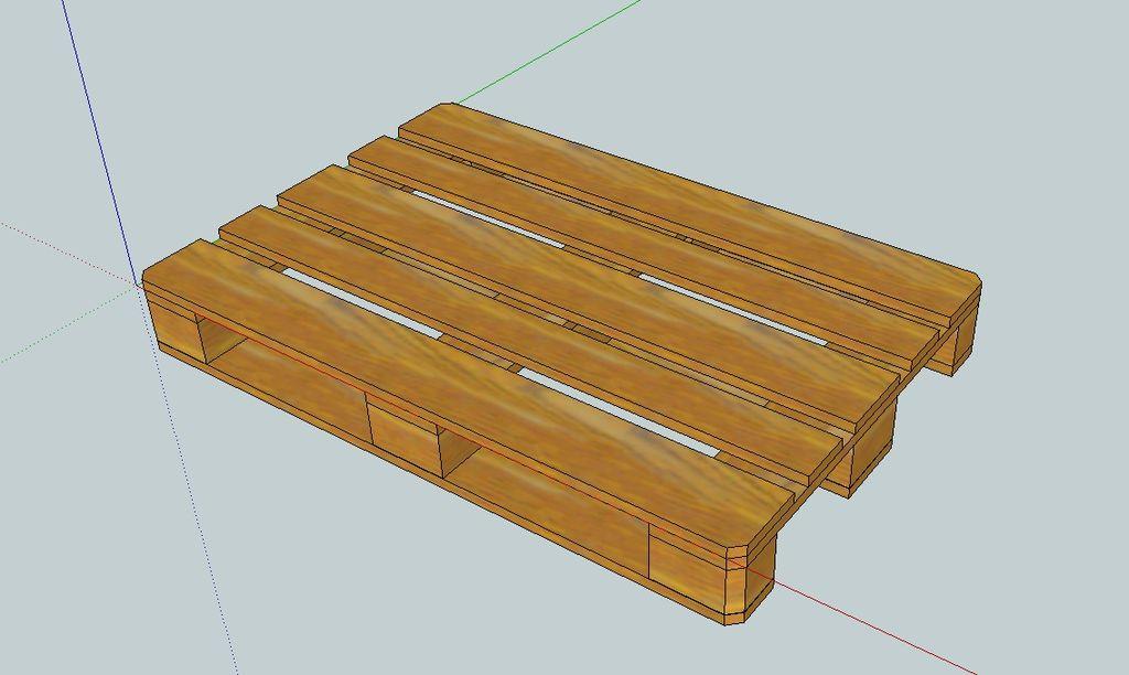 for Como hacer mesa de trabajo con palets