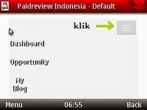 cara masuk paid review indonesia dengan handphone