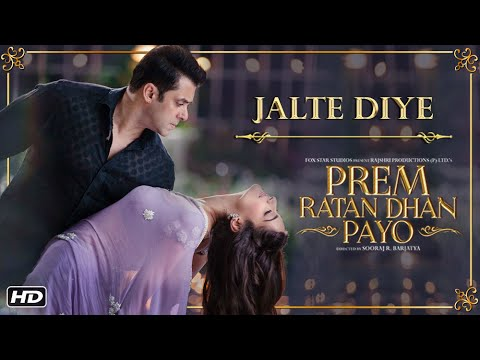 jalte diye mp3 song, hd video with song lyrics from prem ratan dhan payo