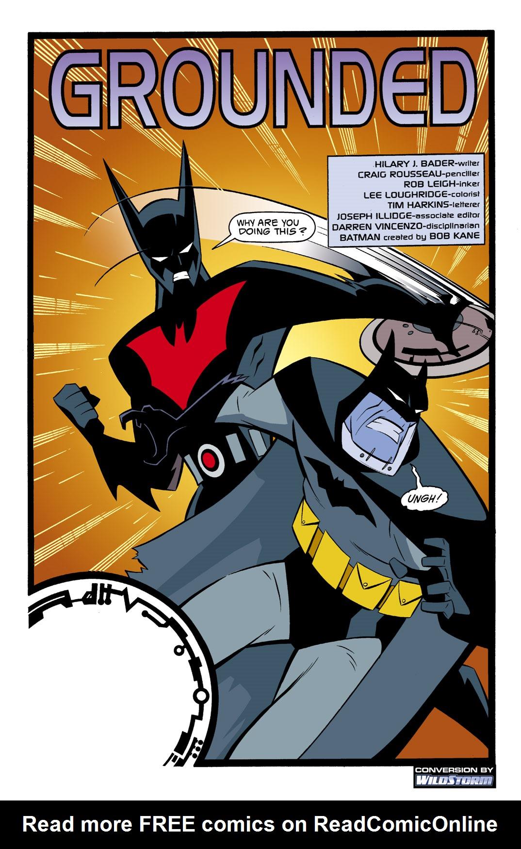 Batman Beyond [II] Issue #1 #1 - English 2