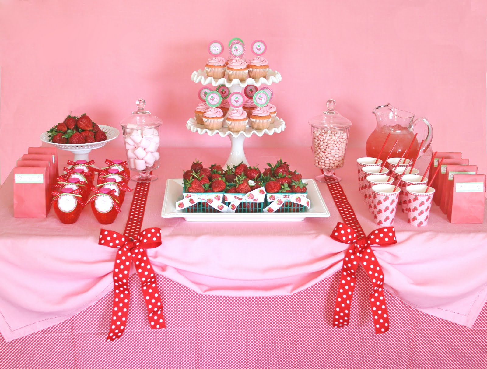 Address to Impress: Hand-Picked: Sweetest Strawberry Party