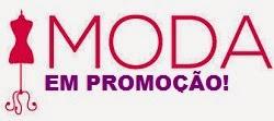 Promoções online em moda