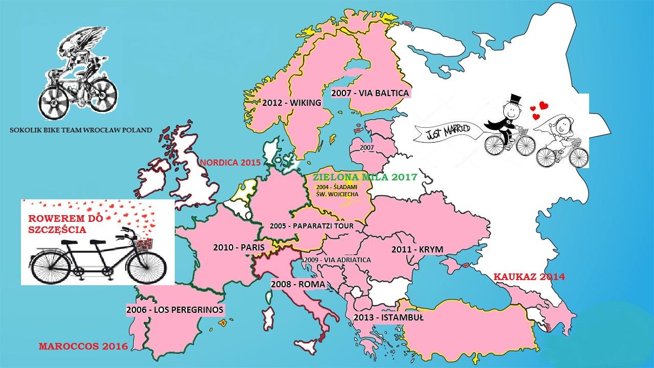 Rowerem do szczęścia ...nasze rowerowe ślady