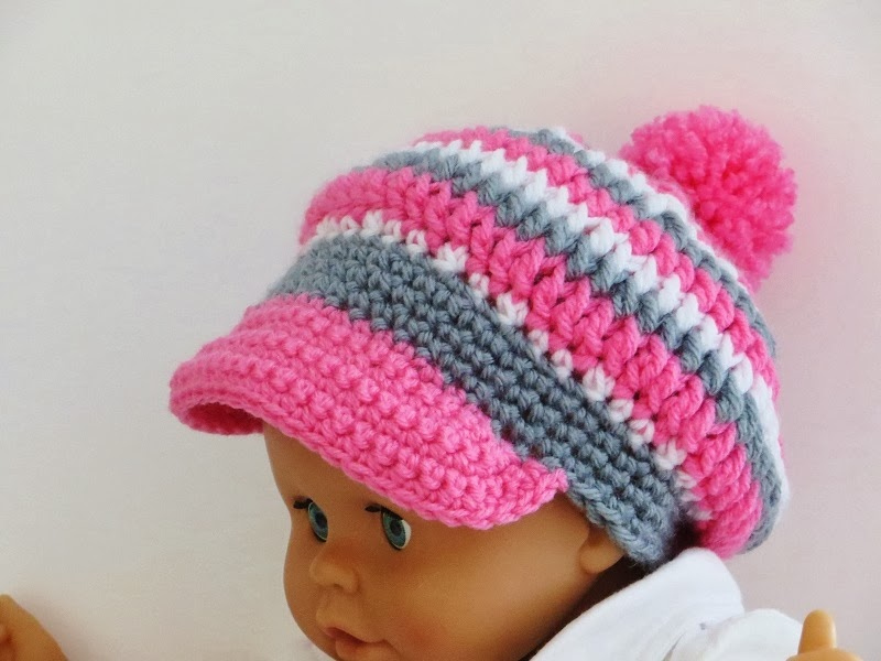 Taylor Newsboy Hat Crochet Pattern For Him Or Her Sizes Ranging