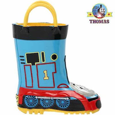 Thomas rain gumboots and raincoat wet gear voguish look preschoolers remain wet free warm and cozy
