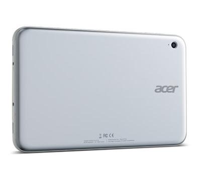 Acer Iconia W3 - Rear Camera