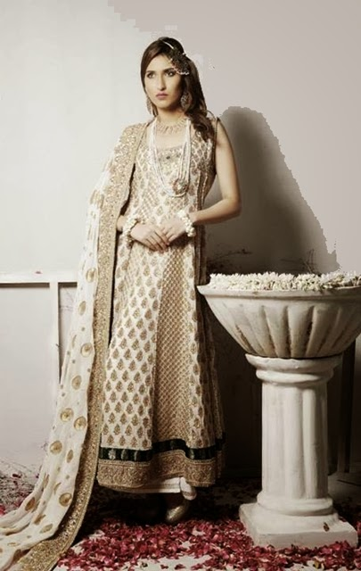 Ready Made Clothing : Ready made bridal wedding dress collection pakistani