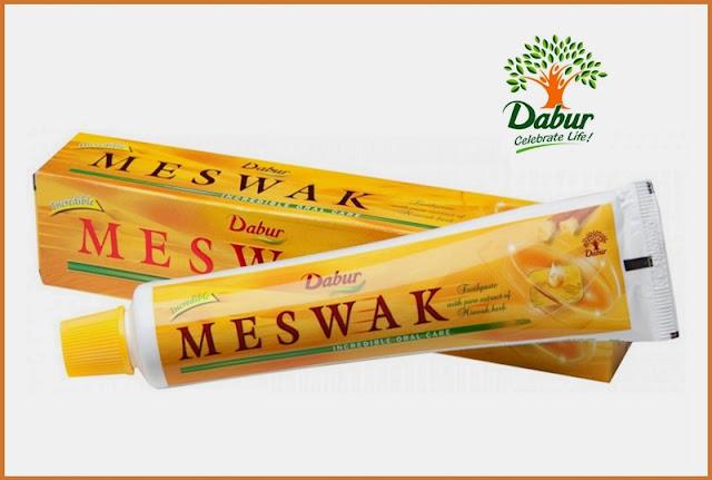 Free Sample Of Dabur Meswak Toothpaste