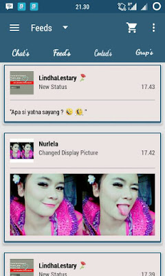 Preview BBM Blue Grid V2.10.0.35