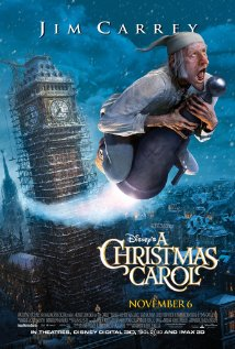 Film Poster A Christmas Carol 2009 animatedfilmreviews.filminspector.com