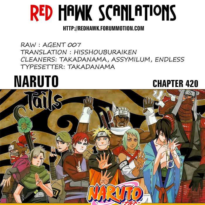 Naruto chap 420 Trang 22 - Mangak.info