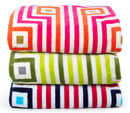 Multi Colored Towels