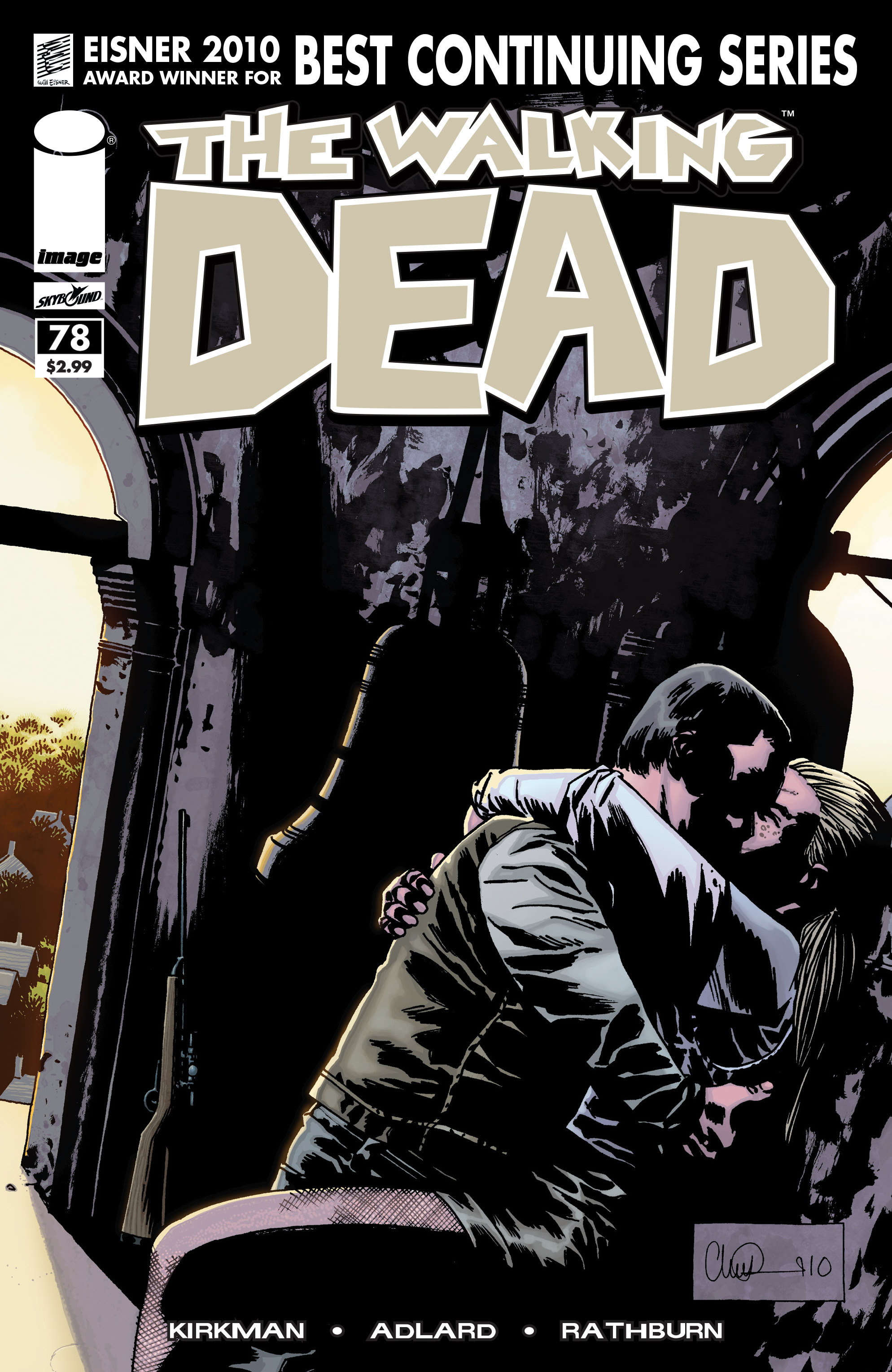 The Walking Dead Issue #78 Page 1