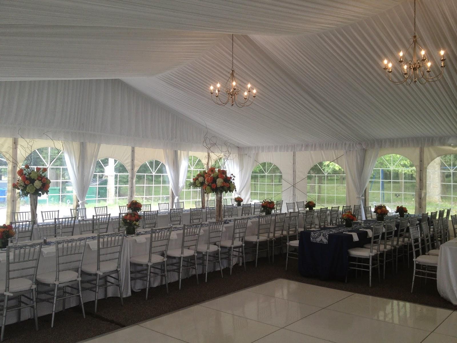 tent event niagara wedding