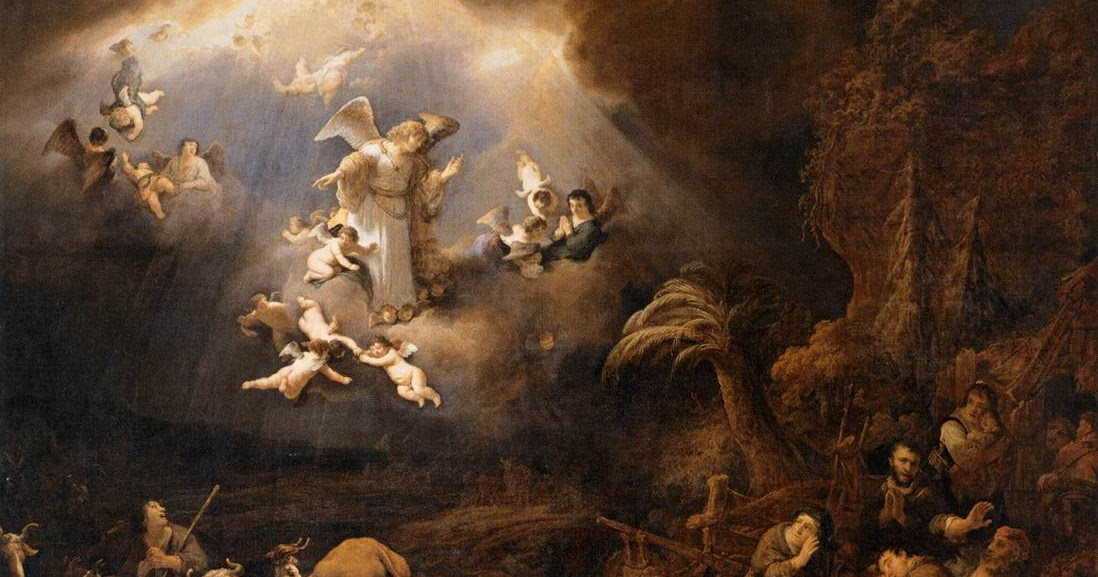 McGaheys McMusings Christ the Lord – Angels Announce the Birth of Jesus