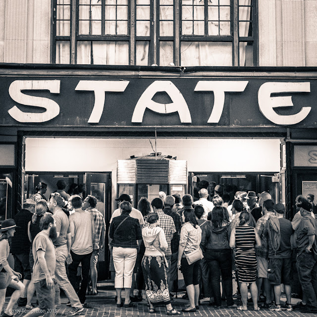 State Theater. Portland, Maine. Summer 2013. Photo by Corey Templeton.