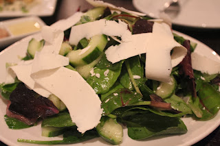 Cucumber salad at 29 Sudbury, Sudbury, Mass.