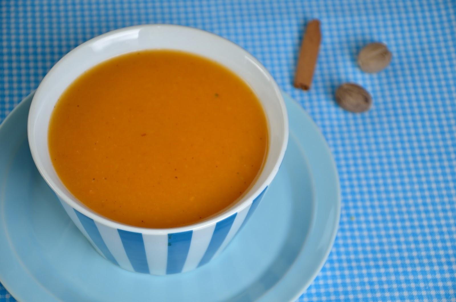 Zupa krem z dyni z cynamonem i imbirem